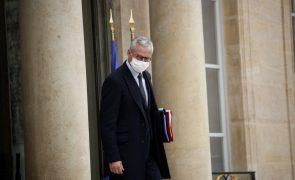 Covid-19: Governo francês estima custo das medidas de contenção em 15 MMEuro mês