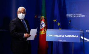 Covid-19. António Costa recebe partidos para procurar consenso sobre novas medidas de combate