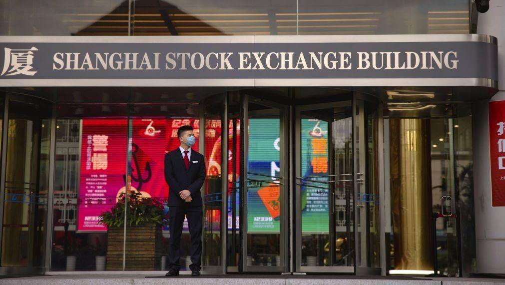 Bolsa de Xangai abriu a subir 0,18%