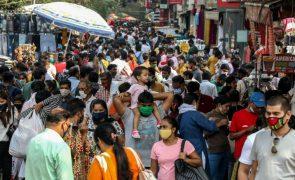 Covid-19: Índia com 563 mortes e 48.648 novos casos