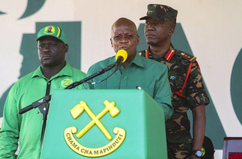 John Magufuli reeleito Presidente da Tanzânia com 84,39% dos votos