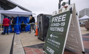 Covid-19: EUA ultrapassam barreira dos nove milhões de infetados