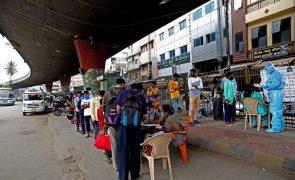 Covid-19: Índia com 551 mortes e 48.268 novos casos