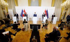 Covid-19: Áustria impõe recolher noturno e fecho de hotéis e restaurantes