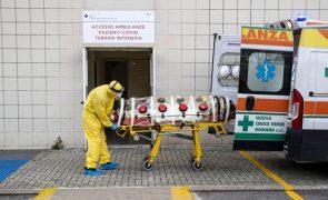 Covid-19: Itália regista quase 32 mil novos casos em 24 horas