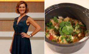 Fátima Lopes O delicioso arroz de bacalhau que deixou Cristina Ferreira a babar
