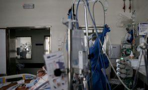 Covid-19: Internamentos com novo recorde de 2.122 doentes nos hospitais
