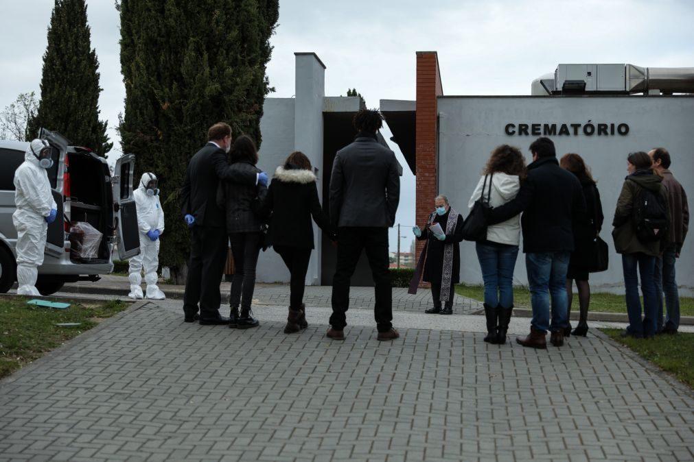 Covid-19: Marcelo, Ferro e Costa prestam homenagem aos mortos na 2.ª feira em Belém