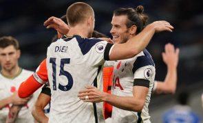 Tottenham de Mourinho vence Brighton 2-1 e isola-se no segundo lugar [vídeos]
