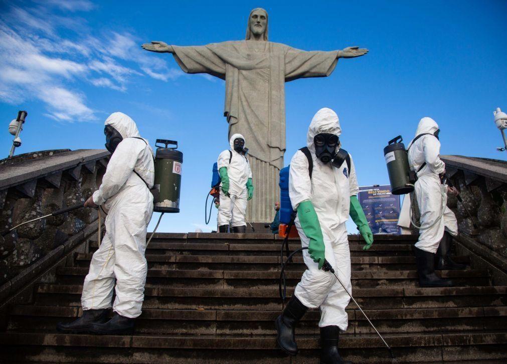 Covid-19: Brasil supera as 160 mil mortes e tem já 5,5 milhões de infetados