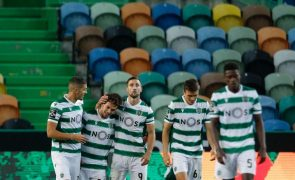 Sporting goleia Tondela e assume liderança provisória