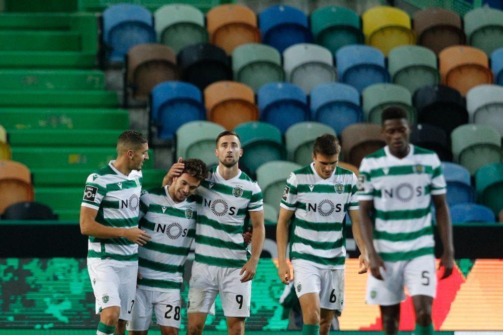 Sporting líder do campeonato depois de bater o Tondela por 4-0 [vídeos]