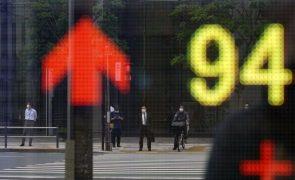 Bolsa de Tóquio abre a ganhar 1,0,3%