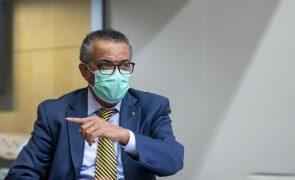 Covid-19: Diretor-geral da Organização Mundial de Saúde está em quarentena
