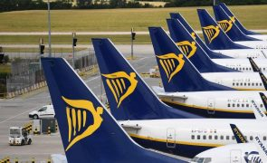 Ryanair passa de lucro a perdas de 197 ME no 1.º semestre fiscal