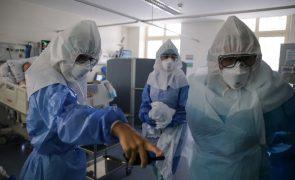 Covid-19: Portugal com 294 internados em cuidados intensivos, novo máximo