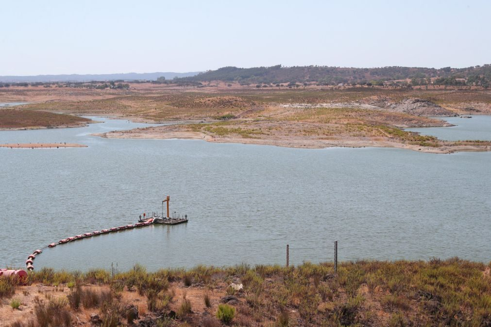 Disponibilidades hídricas nas albufeiras inferiores à dos anos anteriores, com poucas exceções