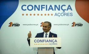 Açores/Eleições: PSD, CDS e PPM têm acordo de governação
