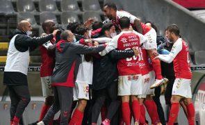 Sporting de Braga vence Famalicão com golo polémico [vídeo]