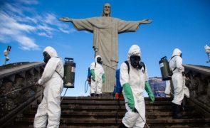 Covid-19: Brasil regista 179 mortes e 8.501 infeções em 24 horas