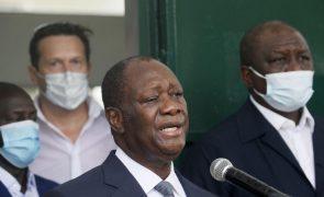 Presidente da Costa do Marfim reeleito para terceiro mandato