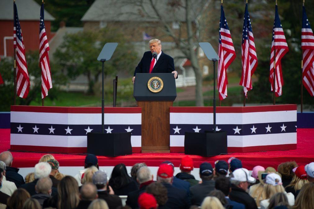 Trump diz que apenas declarará vitória se houver resultado seguro