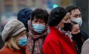 Covid-19: Rússia com recorde de infeções e mortes desde o início da pandemia