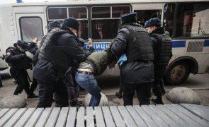 Detidos mais de 30 nacionalistas durante protesto não autorizado em Moscovo
