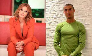 Cristina Ferreira supera Cristiano Ronaldo e desafia-o