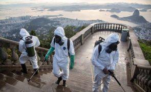 Brasil regista 161.106 mortes por covid-19 e mais de 5,5 milhões de infeções