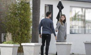 Miguel Oliveira namora com a