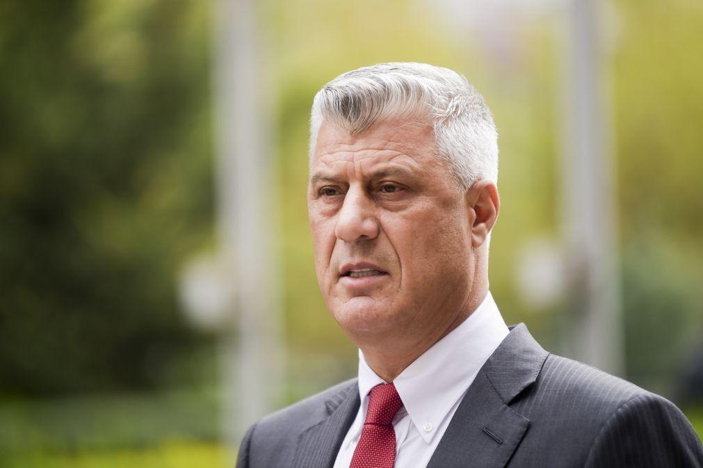 PR do Kosovo demite-se para responder a acusação de crimes contra a humanidade
