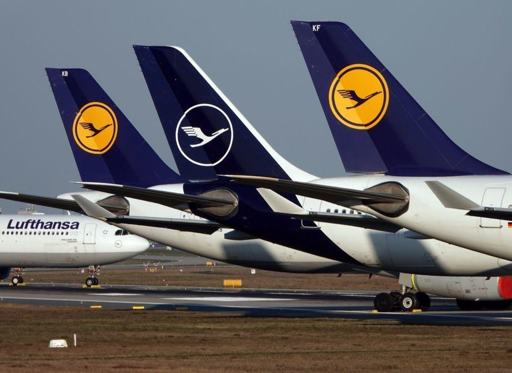 Lufthansa passa de lucro a prejuízo de 5.584 ME nos primeiros nove meses do ano