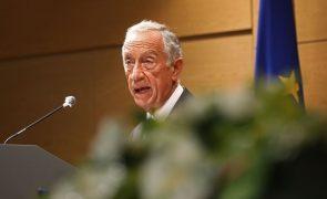 Marcelo fala sexta-feira aos portugueses depois de parlamento votar estado de emergência