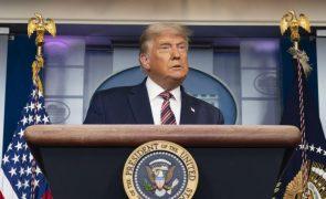 Eleições: Trump diz estar a ser 'roubado' mas não apresenta provas para sustentar acusações