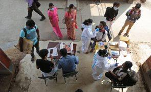 Covid-19: Índia com 670 mortes e 47.638 novos casos