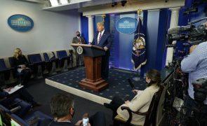 Televisões cortam discurso de Trump e desmentem Presidente, Fox incluída