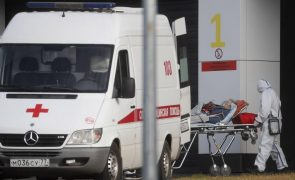 Covid-19: Rússia ultrapassa 20.000 novos casos nas últimas 24 horas