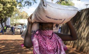 Ajuda alimentar chega a menos de metade das pessoas necessitadas em Moçambique - relatório