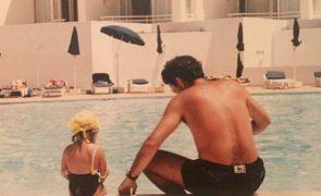 Em dia de aniversário da filha, José Mourinho mostra fotos da infância de Matilde