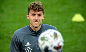 Luca Waldschmidt nos convocados da Alemanha para os jogos de novembro