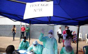Covid-19: Angola anuncia mais 121 casos e atinge 300 mortes