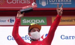 Primoz Roglic ' virtual' vencedor da Volta a Espanha após 17.ª etapa ganha por David Gaudu