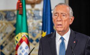 Marcelo saúda Biden e espera que relações se continuem a estreitar
