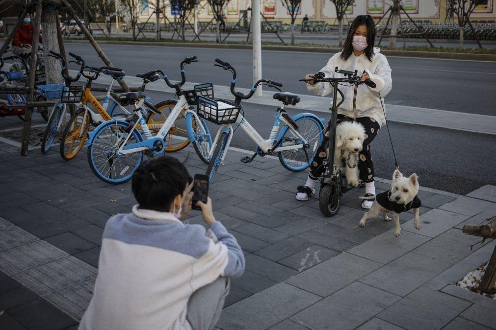 Covid-19: China regista 28 casos oriundos do exterior