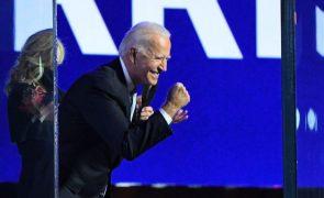 Biden diz que é tempo de sarar e de tornar a América respeitada