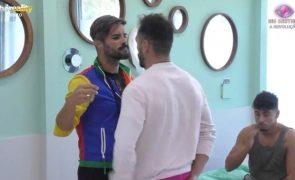 Big Brother. Forte discussão entre Rui Pedro, Andreia e André