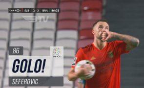 Benfica derrotado em casa pelo SC Braga por 2-3 [vídeos]