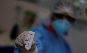 Covid-19: Mais 128 mortes e 10.554 novos casos de infeção no Brasil