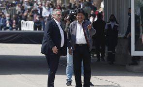 Ex-Presidente Evo Morales de volta à Bolívia um ano depois do seu exílio